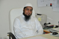 Mohammed Alam, IT manager at Effat