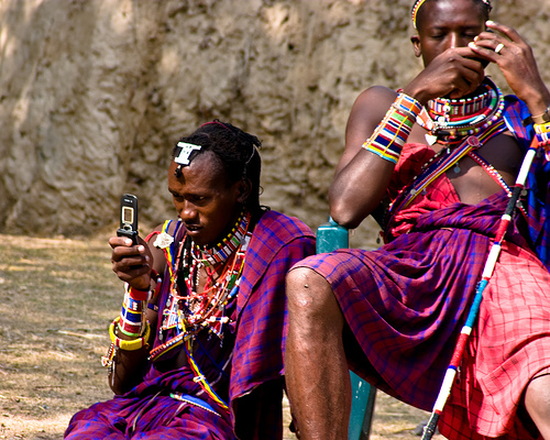 "Photo courtesy of Pallavi Sharma's post ""Africans use mobiles as multi-functional devices: MIT conference""  Apr 03, 2011 via http://www.computernewsme.com"